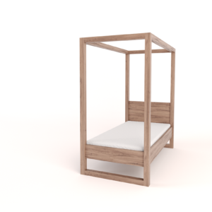 4-Poster Bed – Single