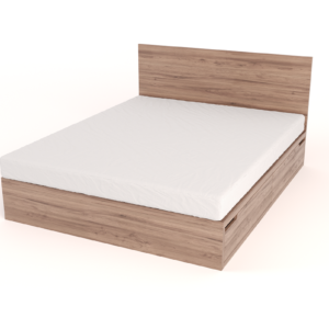 Drawer Bed with Headboard – Queen size